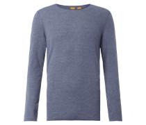 Slim Fit Pullover aus Baumwolle