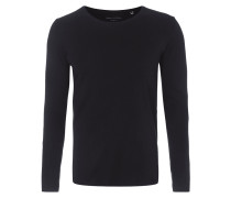 Shaped Fit Longsleeve aus reiner Baumwolle