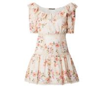 Kleid aus Bio-Baumwolle im Off Shoulder Look