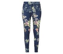 Leggings mit floralem Muster