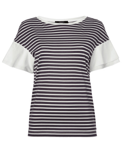 Shirt mit Kontrastärmeln