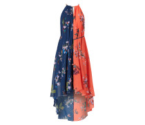 Vokuhila Kleid mit Zierkette