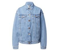 Jeansjacke mit geknöpften Pattentaschen