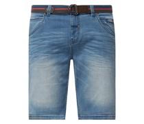 Regular Fit Jeansshorts mit Stretch-Anteil Modell 'Craig'