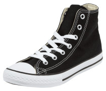 High Top Sneaker aus Canvas