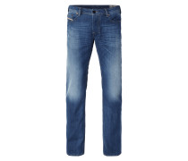 Stone Washed Regular Bootcut Fit Jeans