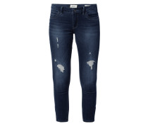 Stone Washed Regular Skinny Fit Jeans