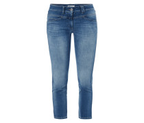 Stone Washed Classic Fit Jeans