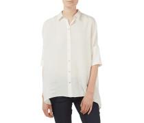 Bluse aus Seide mit überschnittenen Schultern