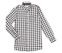 Extra Long Fit Hemd mit Karomuster