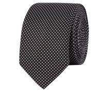 Krawatte aus reiner Seide mit Webmuster