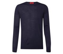 Slim Fit Pullover aus Schurwollmischung