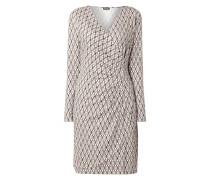 Kleid mit grafischem Muster