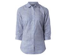 Bluse mit regulierbaren Dreiviertel-Ärmeln