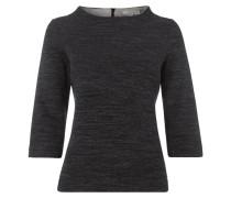 Sweatshirt mit Dreiviertel-Ärmeln