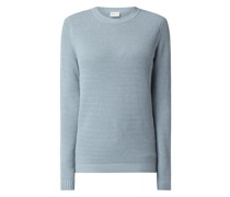 Pullover aus Baumwollmischung Modell 'Chassa'