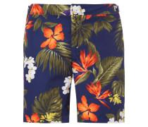 Badeshort mit Hawaii-Muster