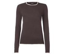 Pullover mit Zierstreifen an den Abschlüssen