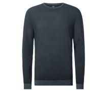 Pullover aus Wolle mit Rundhalsausschnitt