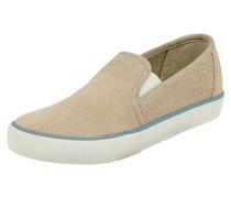 Slip-On Sneaker aus echtem Veloursleder