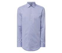 Regular Fit Business-Hemd aus Natté