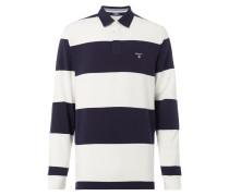 Rugby-Shirt mit Streifenmuster