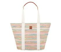 Strandtasche mit Streifenmuster Modell 'Abril Carlota'