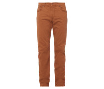 Regular Fit 5-Pocket-Hose mit Stretch-Anteil