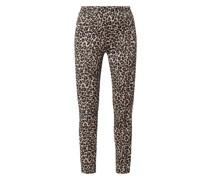 Leggings mit Leopardenmuster Modell 'Giselle'