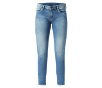 Rinsed Washed Skinny Fit Jeans