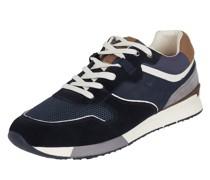 Sneaker aus Leder und Textil Modell 'Elmar'