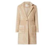 Mantel aus Webpelz Modell 'Claire'