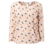 PLUS SIZE - Blusenshirt mit grafischem Muster