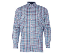 Modern Fit Hemd mit Karomuster - bügelfrei