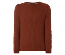 Pullover aus Baumwoll-Schurwoll-Mix