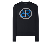 Regular Fit Sweatshirt mit Logo
