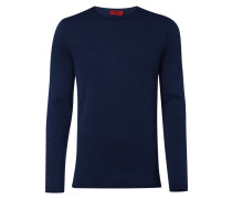 Loose Fit Pullover mit eingestricktem Muster
