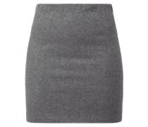 Wollrock mit Nahtreißverschluss