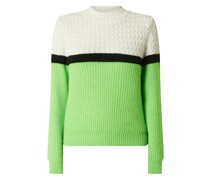 Pullover mit Mohair Modell 'Wontrol'