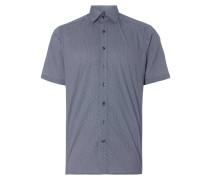 Regular Fit Business-Hemd mit kurzem Arm