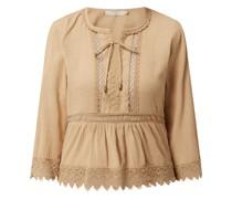 Blusenshirt aus Baumwolle Modell 'Papitta'
