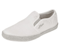 Slip-On Sneaker aus Canvas