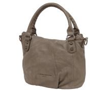 Handtasche aus echtem Leder mit abnehmbarem Schulterriemen