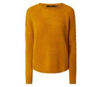 Pullover mit Rundhalsausschnitt Modell 'Esme'