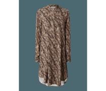 Kleid mit Schlangenmuster Modell 'Olympia'