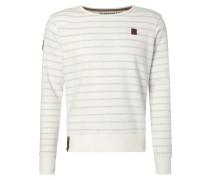 Sweatshirt mit Inside-Out-Streifenmuster