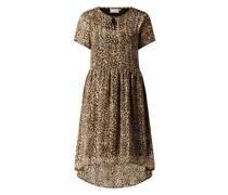 Kleid mit Animal-Print Modell 'Kalatanya'