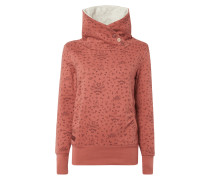 Sweatshirt mit Fuchsmuster
