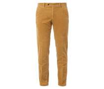 Regular Fit Cordhose mit Stretch-Anteil