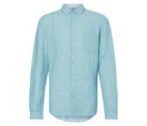 Tailored Fit Freizeithemd aus reinem Leinen